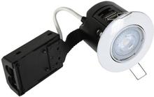 Nordtronic Easy Install 63 Indbygningsspot 5W/827 LED GU10, Hvid