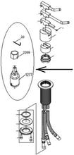 Vola servicesæt med kartouche til brusebatterier (1100, 2100, 2200 & 2400-serien)