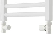 TVS ventilsæt, ligeløbende, vendbar, hvid
