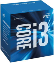 Core i3-6100 Skylake CPU - 3.7 GHz - LGA1151 - 2 kerner - Boxed