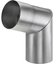VMZINC 70° bøjning med Ø87 mm nedløb (indvendig samling)