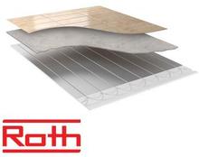 Roth Compact Gulvvarme til lav byggehøjde - pladepakke dækker 8,9 m2