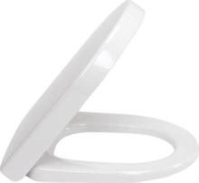 Villeroy & Boch Subway toiletsæde kort model med softclose og quick release i hvid