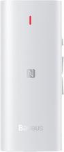 Baseus BA03 Wireless Bluetooth Audio Receiver Til Headset - Hvid