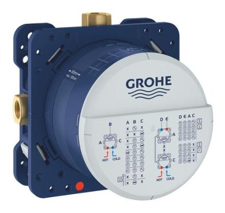 GROHE Rapido SmartBox indbygningsboks til Grohtherm SmartControl indbygningstermostater