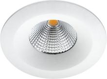 SG Uniled 35 indbygningsspot 7W LED i hvid