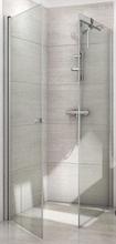 Dansani Match firkantet brusehjørne 100 x 100 cm med satin profil og klart glas - Model 12