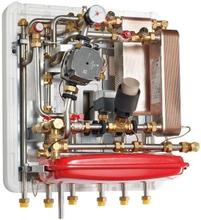 METRO System 6 fjernvarmeunit med veksler på både vand og varme