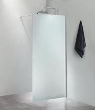 Cassøe Slim brusevæg 80 cm, frostet glas