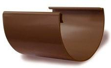 Plastmo samlestykke i brun til tagrende nr. 12