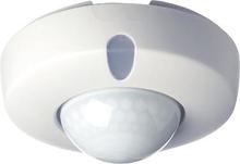 Servodan tilstedeværelsessensor PIR 360° 230V i hvid
