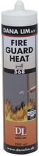 Dana Lim Fire Guard Heat 568 pannkitt, upp till 1200°C, 290 ml