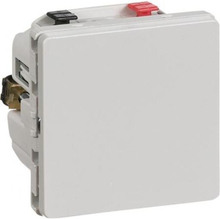 LK IHC Wireless Fuga Universal lysdæmper, 250W, 1 modul, Lysegrå