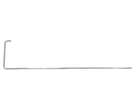 Frese bruserør 1500x330 mm, krom