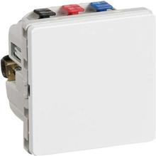 LK IHC Wireless Fuga Universal relæ, 4A, LED, 1 modul, Hvid