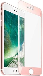 Heltäckande 4d displayskydd i härdat glas till iphone 7 (roségul