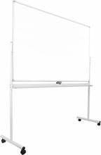 FTI - Whiteboard på hjul ECO 120×180 cm, hvid