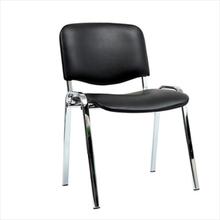 FTI - Comfort X stol med krom stel - Sort PU
