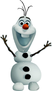 Olaf dekoration Frost One-size