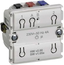 LK IHC Wireless Fuga Universal relæ, 4A, LED, 1 modul, Uden afdækning