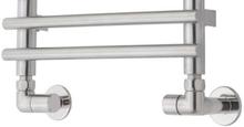 TVS ventilsæt, vinkelløbende, vendbar, rustfrit stål