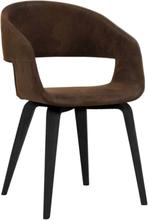 2 st Nova matstol - Vintage Mocca brun