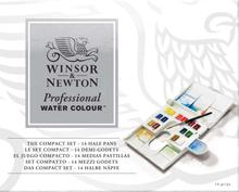 Akvarellfärg W&N Professional Kompakt plastlåda