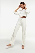 Cecilia velour trousers