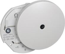 LK IHC Wireless Lampeudtag/lysdæmper, Ø80 mm, 250W, Lysegrå