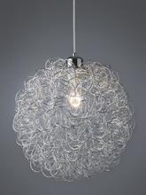 Nielsen Wire Pendel Ø30, Sølv