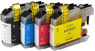 Paket 4st kompatibla bläckpatroner LC223 (LC223VALBPDR)