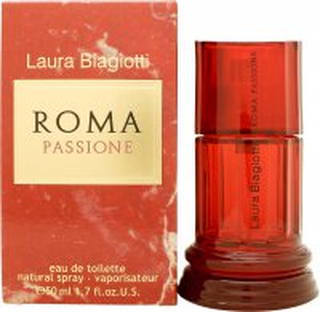 Laura Biagiotti Roma Passione Eau de Toilette 50ml Sprej