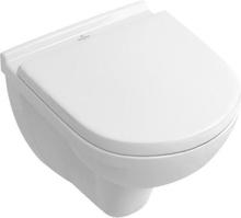 Villeroy & Boch O.Novo væghængt toilet kort model med softclose sæde