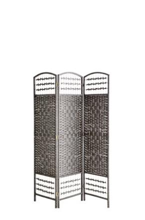 Madam Stoltz Rumsavdelare 120x150 cm - Mörgrå