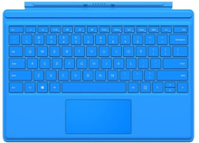 Microsoft Surface Pro 4 Type Cover Pohjoismainen - Vaaleansininen