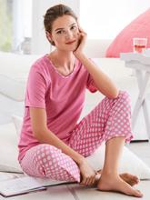 Pyjamas från Rösch cerise