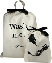 Wash Me Laundry Bag + Charger Bag