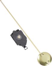 Basetech BT-1911208 Kvarts Quartz pendelur Rotation (klocka)=höger Visaraxellängd=16.8 mm