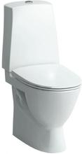 Laufen Pro-N toilet m/skjult S-lås, limning, rengøringsvenlig, hvid