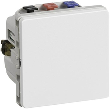 LK IHC Wireless Fuga Universal relæ, 6A, 1 modul, Hvid