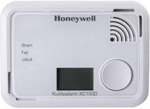 Honeywell Kuliltealarm XC100D med display, 10 års batteri, Hvid