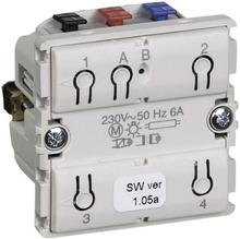 LK IHC Wireless Fuga Kombi relæ, 1 modul, Uden afdækning