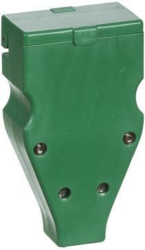 LK flerpolet forlængerled 3P+N+J i rød/grøn