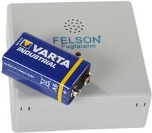 Felson Fugtalarm, 9V batteri