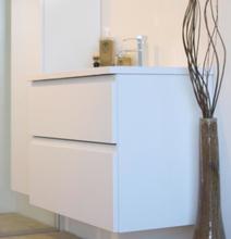 Cassøe Front møbelpakke med skuffer 61 x 47,5 cm i hvid