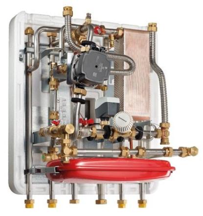 METRO System 5 fjernvarmeunit indirekte opvarmning til montering under beholder, 16KW
