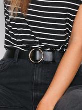 NLY Accessories Ring Belt Bälten & Skärp