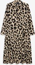 Maxi shirt dress - Beige