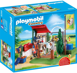 Playmobil6929, Hästdusch