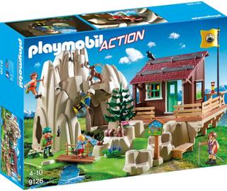 Playmobil9126, Bergsklättrare med koja